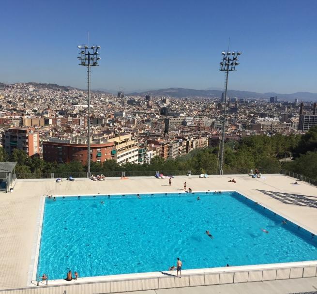 Montjuic swimming pool